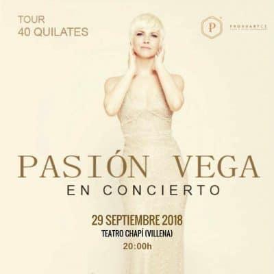 agenda de eventos Septiembre 2018- pasion vega